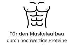 Perfekt für den Muskelaufbau