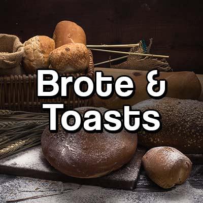Gesunde Brote und Toasts Vergleich