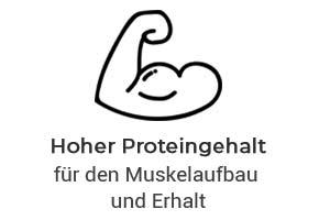 Hoher Proteingehalt