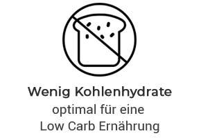 Wenig Kohlenhydrate für Low Carb Diät